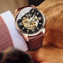 CURREN8116手表国产腕表冲冠真皮表带日历大表盘男士低价库存处理