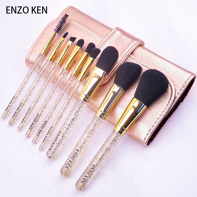 Enzo makeup brush set beginners full set of brush combination makeup tools to receive a full set of makeup tools
