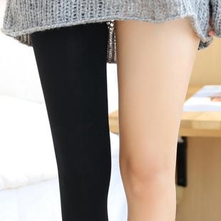日本压力春秋季天鹅绒外穿连裤袜