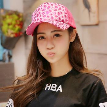 韩版春夏球子女新款纯色亮片棒球帽
