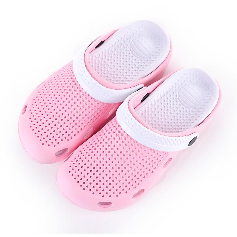 (用1元券)夏季平底洞洞鞋女款室内外凉拖鞋 花园鞋沙滩鞋凉鞋 大头拖鞋凉拖