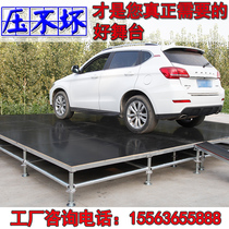 Stage frame rea lifting stage Wedding quick load folding stage wedding runway round steel stage truss