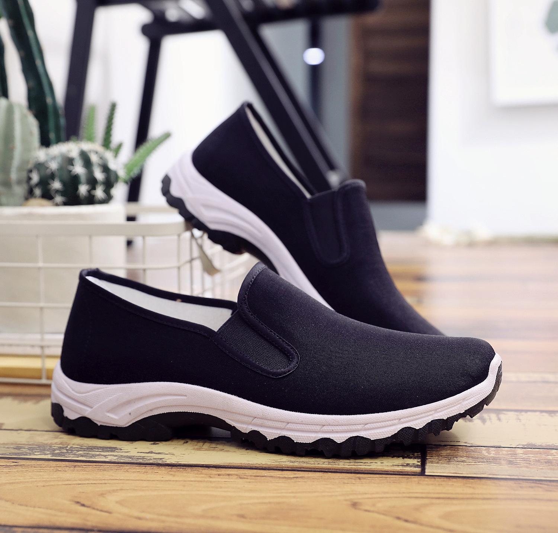 新款老北京布鞋男舒适透气传统中国风中老年休闲鞋老式布鞋