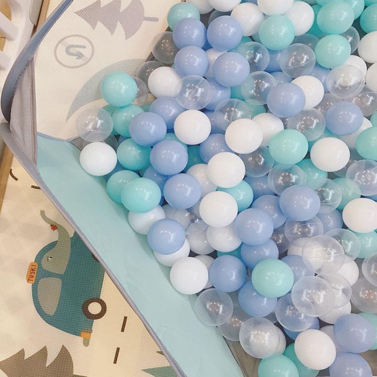 11-28新券网红墙海洋球马卡龙色网红房间拍摄装饰海洋球波波球游乐场玩具球