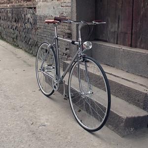 Kolor复古自行车男女英伦老款单速单车城市变速代步车通勤公路款