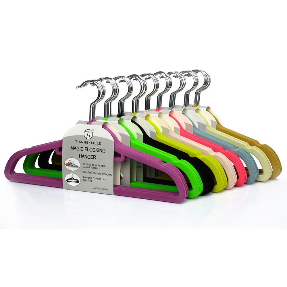 Поля и качество бархат вешалка занос магии пластиковых одежда Одежда одежду повесить повесить повесить бумаги мешок почта