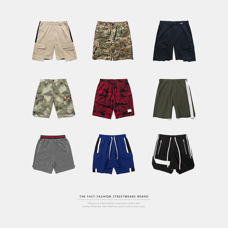 SMA mens wear new fashion brand Euro American retro sports Street mens casual shorts special price