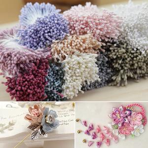 手工DIY韩版哑光花芯花心火柴头花蕊和风细工花蕊材料饰品配件
