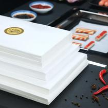 樓尚燒烤紙烤箱烤盤烤肉紙長方形硅油錫紙廚房油炸烘焙家用吸油紙