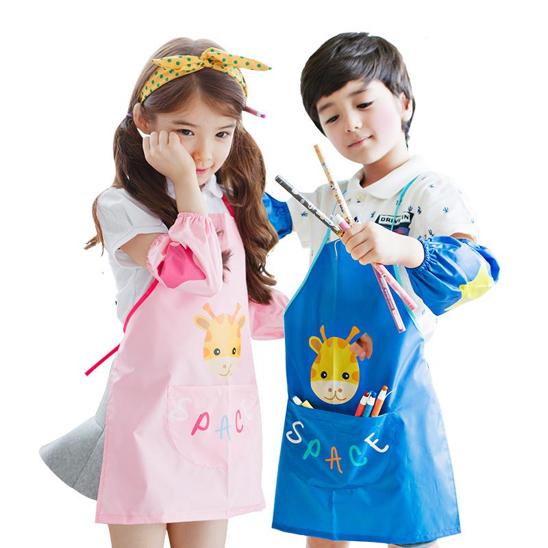 兒童防水男童女童圍兜