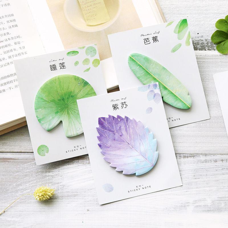 券后5.86元网红抖音韩国可爱创意树叶便利贴