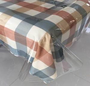 超薄PVC透明塑料餐桌布下垂桌垫茶几垫软质水晶垫板防水防油免洗