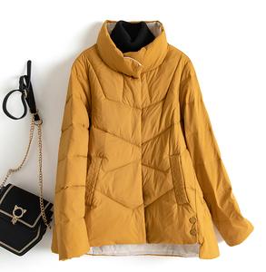 2021新款韓版韓國爆款短款寬松時尚潮流立領外套冬