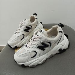 MEMA热典密码网鞋小白鞋百搭透气网面薄款加绒运动休闲鞋飞织女鞋