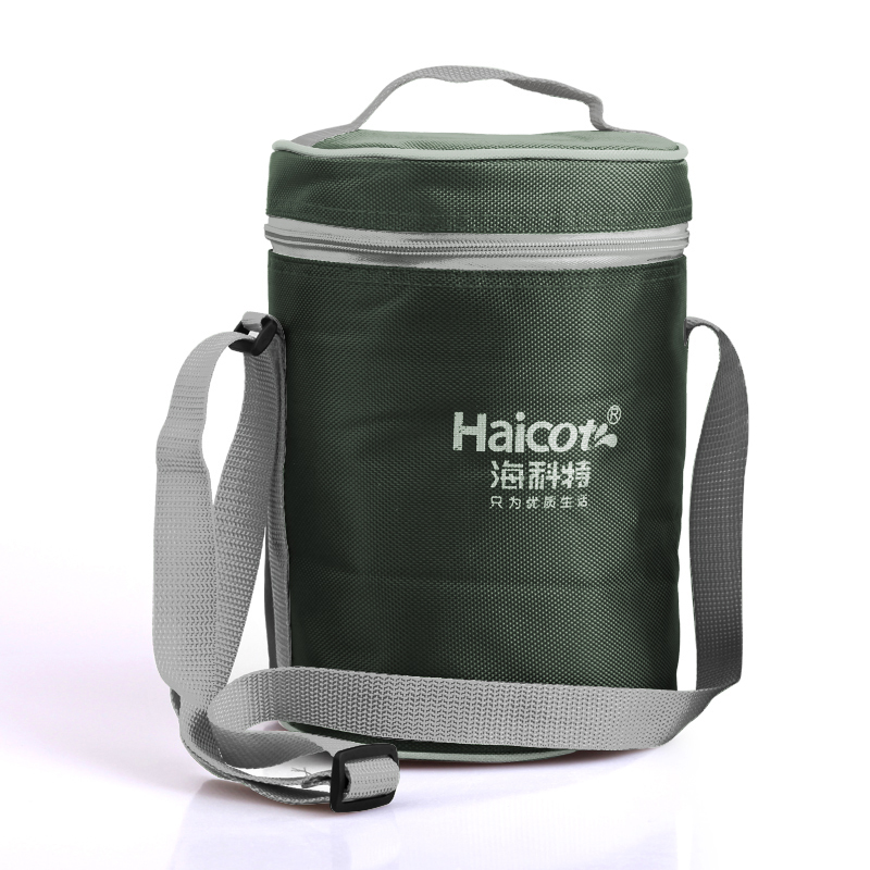 Thickened heat preservation lunch box bag convenient bag square round portable rice bag portable lunch box bag carrying pot heat preservation Bucket Bag