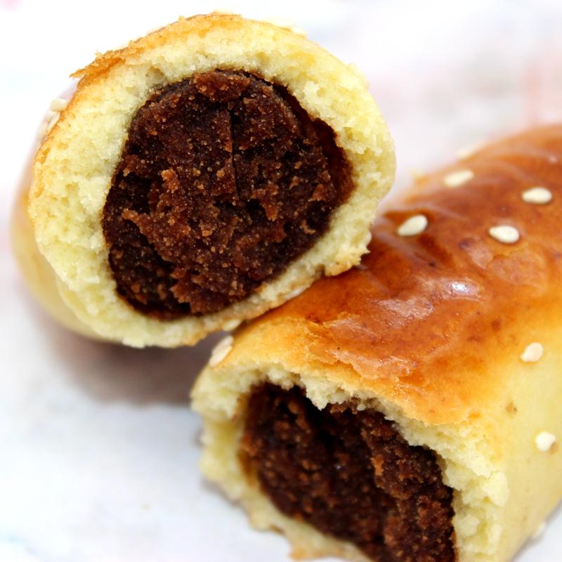 特色豆沙馅饼干零食点心纯手工枣泥面包糕点特产老式食品小吃早餐