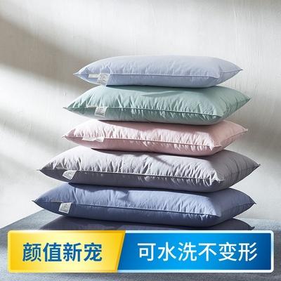 乐居者小枕头儿童婴儿羽丝绒枕芯35*5040*60幼儿园学生水洗午睡枕
