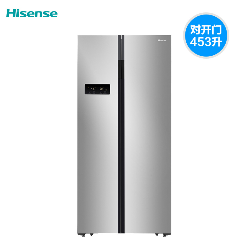 Hisense / Hisense bcd-453wfk1dq refrigerator double open door air cooling frost free intelligent control