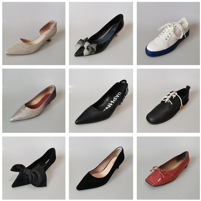 Daphne/达芙妮春秋单鞋玛丽珍鞋小白鞋时尚高跟通勤真皮女鞋多款