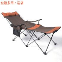 折叠躺椅夏用透气单人午休家用休闲简易午睡沙滩椅办公室半躺椅子