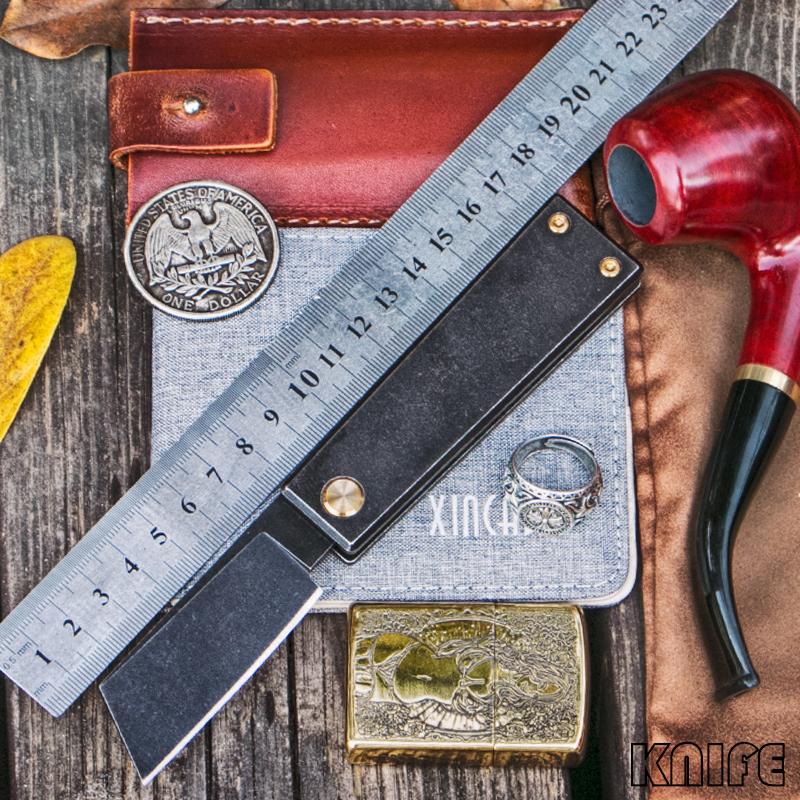 高端正品TC4钛合金S35VN粉末钢刀折叠刀军刀水果刀口袋刀小刀无锁