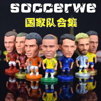 足球周边礼品国家队合集巴西德公仔