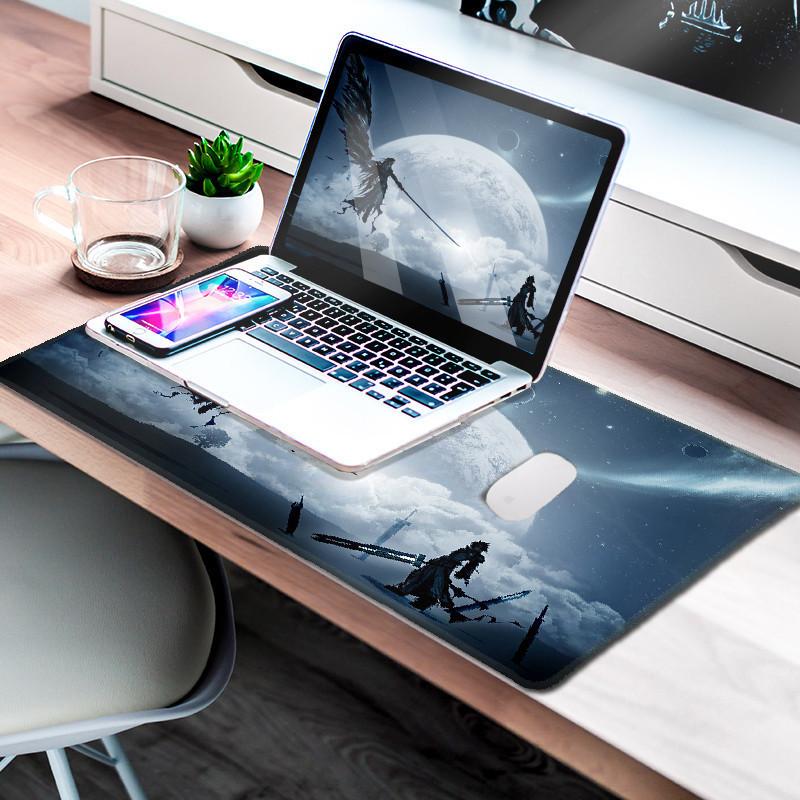 鼠标垫笔记本电脑垫超大桌垫大号键盘写字台书桌家用办公室学生学习游戏电竞男可爱女生动漫小号护腕桌面垫子