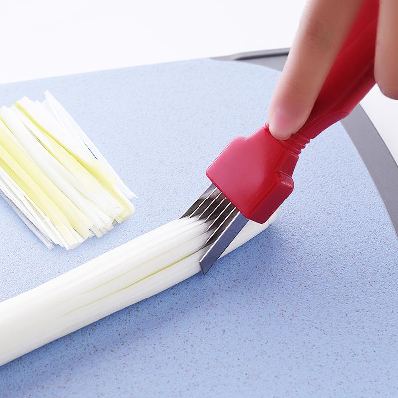 日本切葱丝刀大葱小葱切丝刀切葱刀切厨房工具葱花刀葱-钢筋切割工具(加惠家居专营店仅售12.9元)