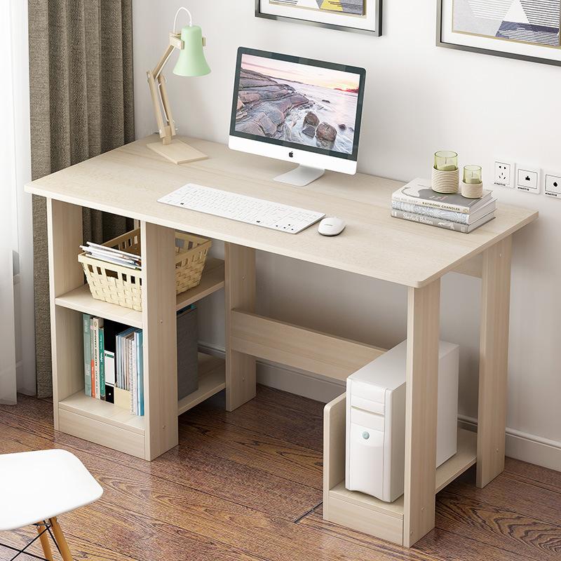 简易桌子电脑桌台式家用办公桌简约现代学生小书桌卧室学习写字桌