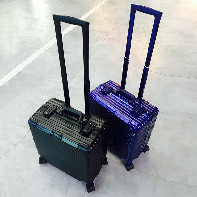 Business 18 inch trolley case computer case small luggage case short distance travel case 16 / 17 inch horizontal