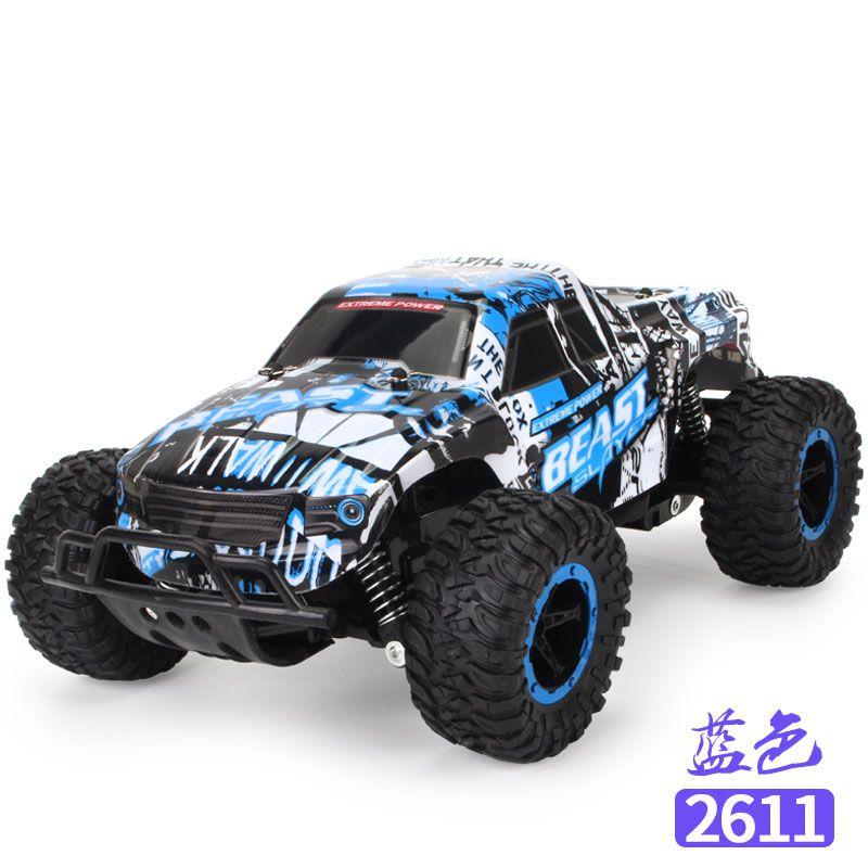RCTBOX RC1:16飘移耐摔合金无线充电高速攀爬越野遥控拉力玩具车,可领取元淘宝优惠券