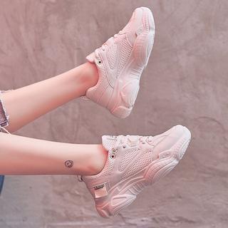 大小李宁静运动鞋2020年新款春季老爹鞋女鞋学生百搭休闲ins潮鞋