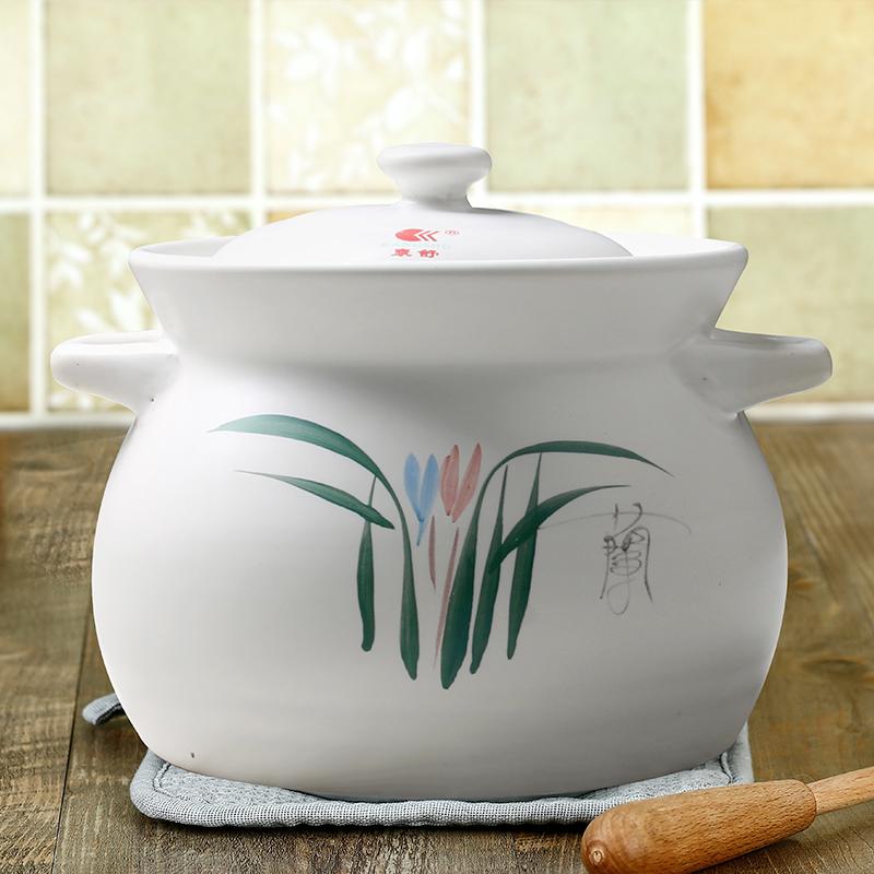 康舒陶瓷 砂鍋燉鍋 湯鍋湯煲燉煲耐高溫明火沙鍋煲仔飯健康養生鍋
