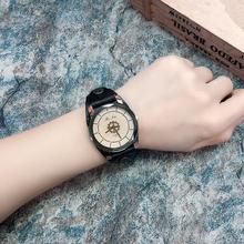 女士手表女款时尚简约大方皮带款装饰腕表时尚学生学院风国产腕表