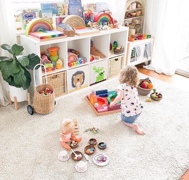 可比熊儿童玩具收纳定制幼儿园书架(用108元券)