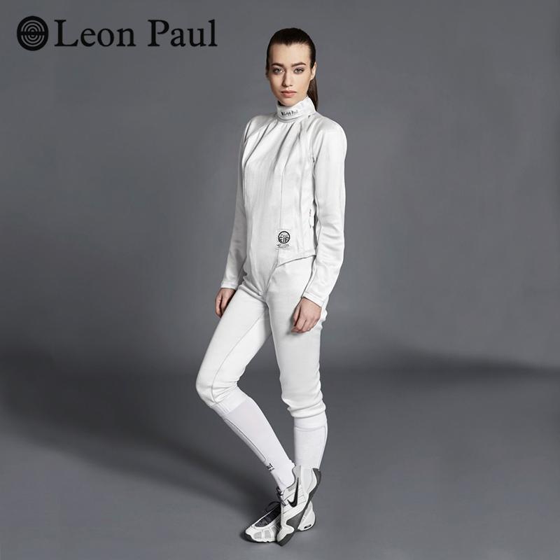 LeonPaul 保罗击剑 超轻击剑服 女士800N三件套 轻盈弹性面料