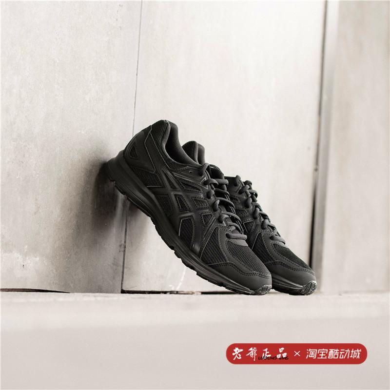 老爷Asics/亚瑟士JOG 100 2黑武士低帮男女运动跑步鞋TJG138-9090图片