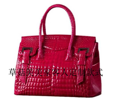 Corelli High End Custom Nile Crocodile Bay Alligator Leather Handbag