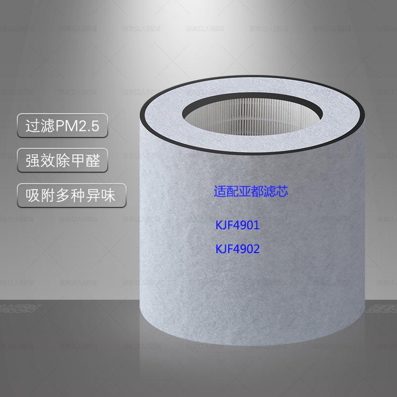 [净化器耗材净化,加湿抽湿机配件]适配亚都空气净化器KJF4901型滤月销量0件仅售248元