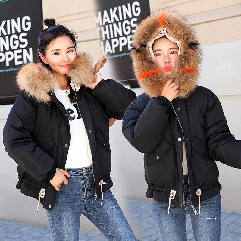 羽絨棉服女短款2021冬季新款韓版百搭減齡加厚小個子棉衣棉襖外套