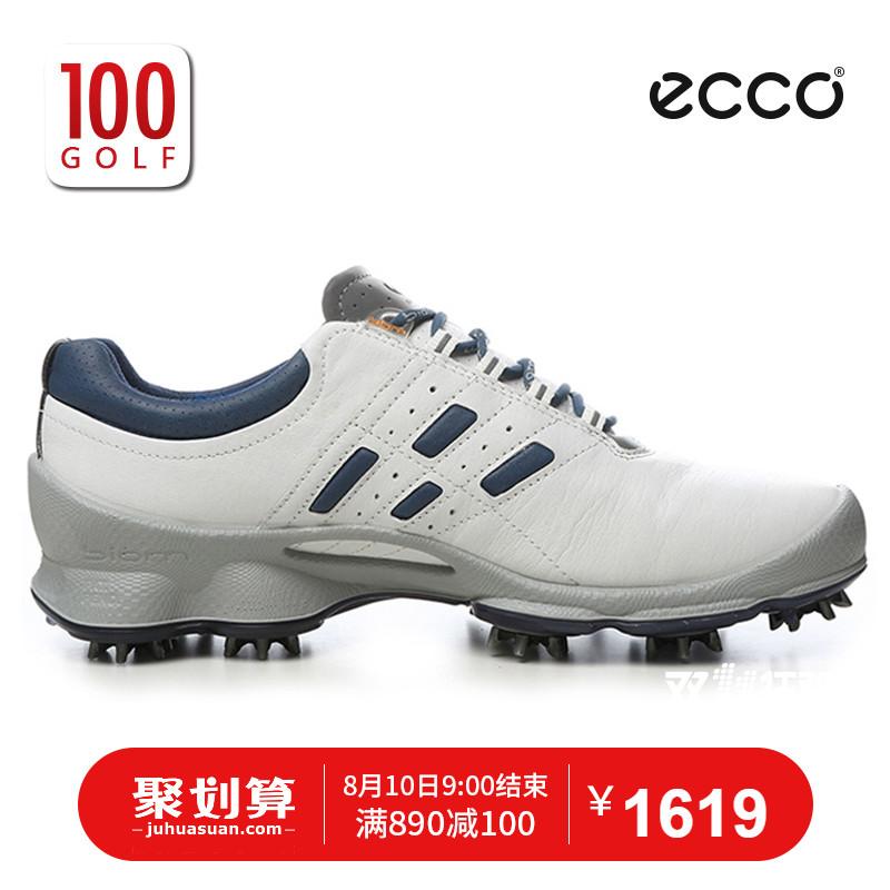 ECCO�鄄� 高��夫球鞋 男健步舒�m系列 高��夫鞋 男士新款�鄄侥行�