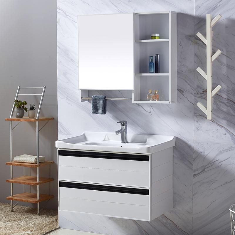 满500元可用10元优惠券卫生间铝合金现代简约洗手台盆柜柜