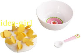 Haba simulation food breakfast cornflake family props role playing toy 3986
