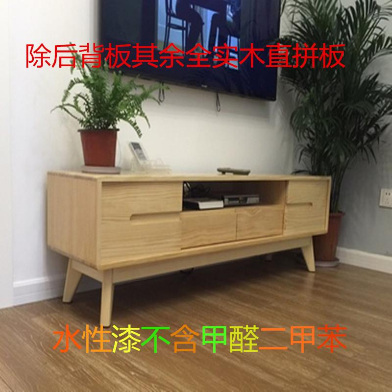 北欧の丸太テレビのキャビネットが軽くて贅沢な後に近代的な戸棚の日本式の客間のお茶の組み合わせが簡単にもとの木の映画とテレビの箱を予約します。