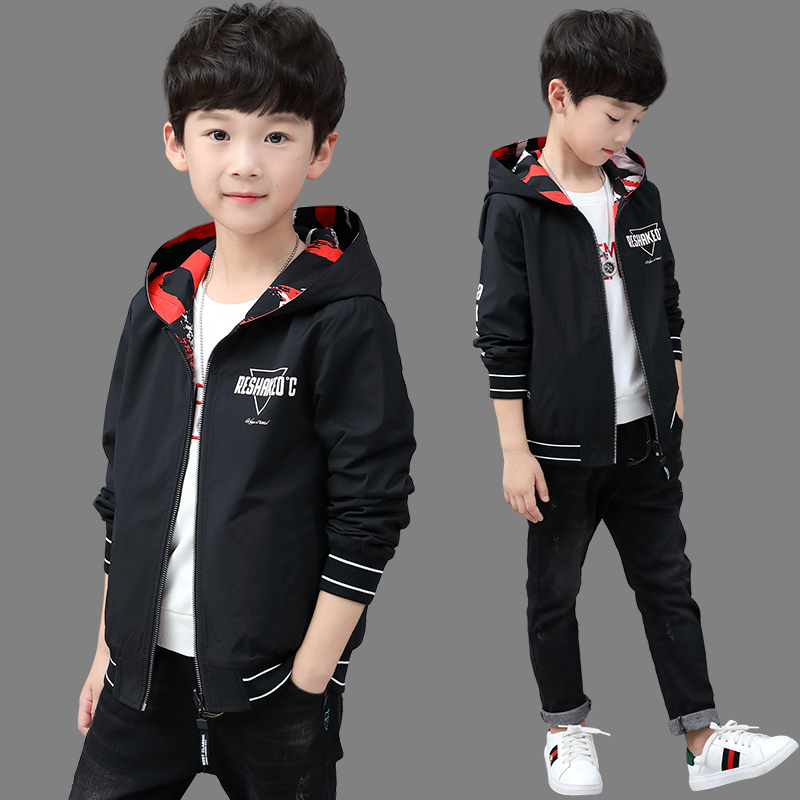 Childrens wear boys coat 2020 new spring and autumn boys Korean version
