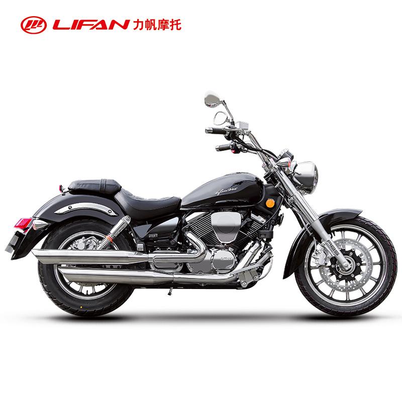 力帆摩托V16 LF250-E国四电喷美式双缸巡航机车太子车摩托车整车限7000张券