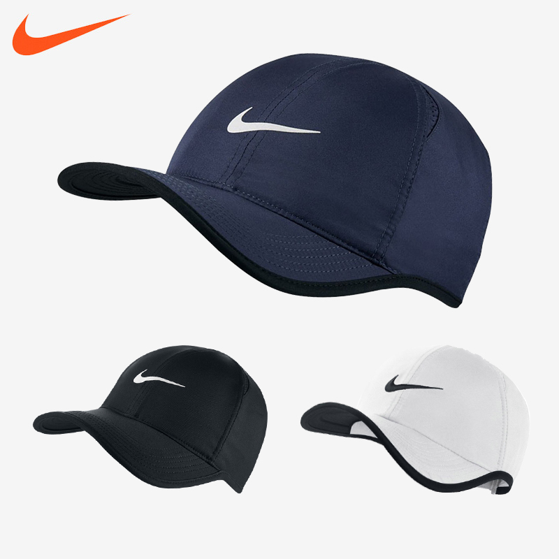 Nike nike шляпа мужской и женщины затенение крышка зимний осенний новинка регулируемые теннис крышка движение крышка солнцезащитный крем 679421