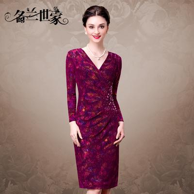 名兰世家红色礼服好吗