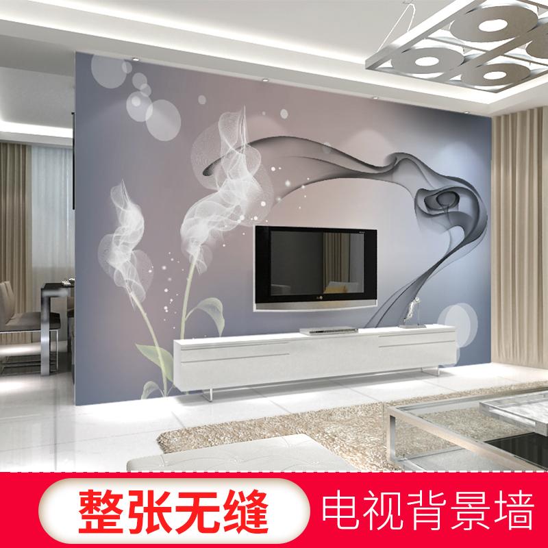 3D立体现代简约客厅电视背景墙壁纸影视墙壁画卧室墙纸5d无缝墙布