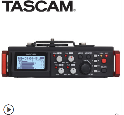 TASCAM dr-701d 6-track digital professional recorder SLR camera video interview synchronous recorder